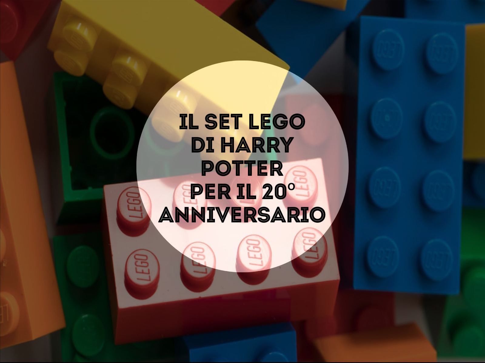 Il set LEGO di Harry Potter per il 20°anniversario